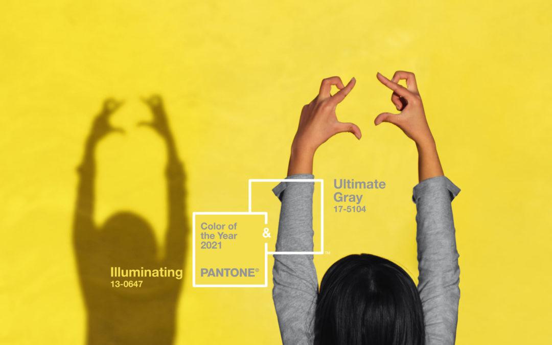 PANTONE: Kleur van het jaar 2021